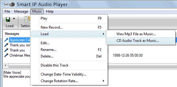 Smart IP Audio Player
